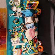 Paket baby-Spielzeug schmusetuch schnullerketten