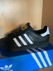 ADIDAS SUPERSTAR BLACK NEU OVP
