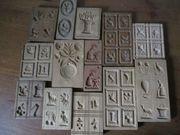 Kleine Sammlung alter Holzmodl abzugeben