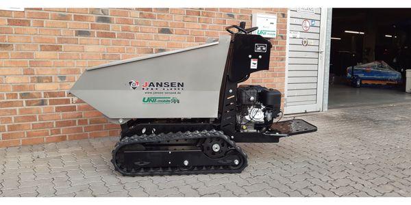 Raupendumper Jansen RD-600 Benzinmotor hydrostatisch
