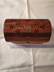 Holztruhe Aus Holz Handarbeit