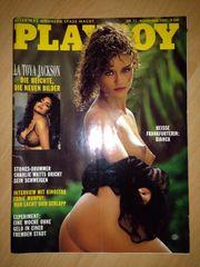 Playboy 11 1991 mit LaToya
