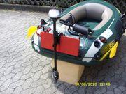 Schlauch Boot Neu mit Elektromotor