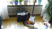 Elekt Gitarre Fender Squier Vintage