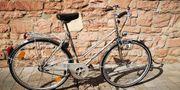 Damen Herren Vintage Fahrrad der