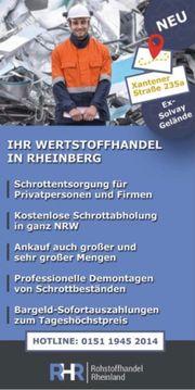 Schrottplatz Neu Eröffnung Rheinberg