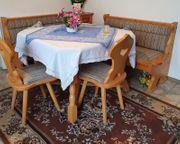 Bauernküche -Tisch mit 2 Schubladen