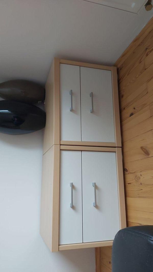 Schlafzimmer Schrank 2x kleine Kommoden