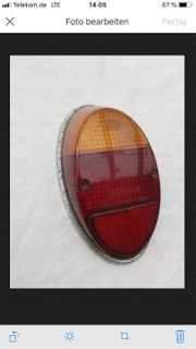 Rückleuchte VW Glas