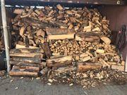 Verkaufe Brennholz Buche und Eiche