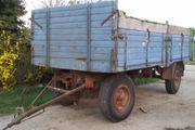 LKW Anhänger Ballenwagen Plattformwagen kein