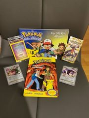 Pokemon Set Karten und mehr