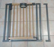 Tür und Treppenschutzgitter mit Verlängerung