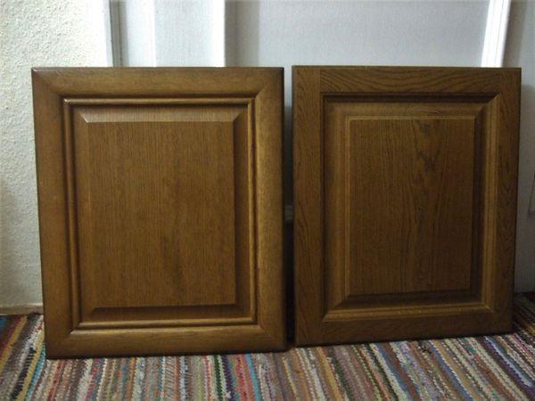 2 x Holztür Möbeltür Küchentür