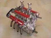 V8 Modellmotor 108ccm 4takt-Motor