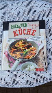 Neuwertiges modernes hochwertiges Kochbuch Ruckzuck
