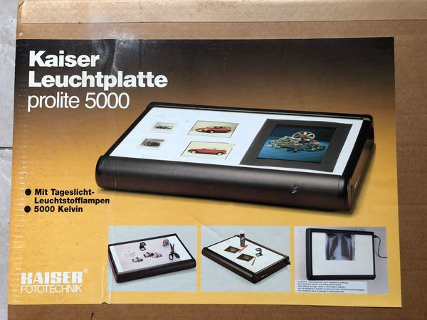 Kaiser Leuchtplatte prolite 500 Fototechnik