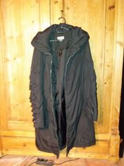 Damen-Mantel 3 schwarz Gr 42