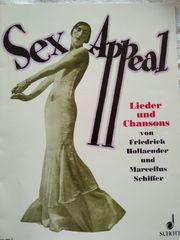 Klaviernoten Pianobuch Orgelheft Sex Appeal
