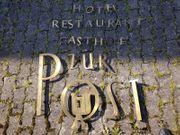 Messing Buchstaben Gasthof zur Post