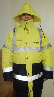 GELB Arbeitsjacke Berufsjacke Jacke Warnjacke