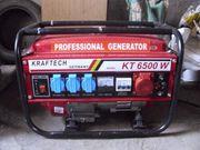 Notstromaggregat 4-Takt Stromerzeuger 6500 Watt