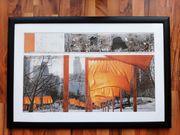 Kunstdruck The gates von Christo