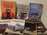 Verschiedene gut erhaltene Autobücher