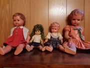 4 Schildkröt Puppen