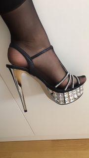 getragene pool Dance high heels
