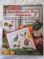 Das Kreuzstich-Buch Landleben Stickvorlage Zählmuster