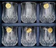 Longchamp Cristal d Arques Schnapsgläser