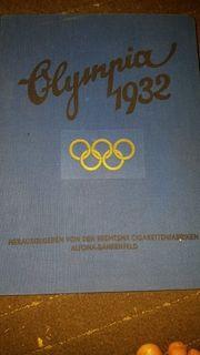 Olympia 1932-36 Sammelalbum voll Rarität