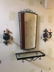 Ablage Spiegel mit Leuchten Lampen