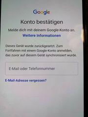Dieses Gerät wurde zurückgesetzt GoogleKonto