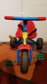 1 mehrfarbiges Dreirad 8 FP