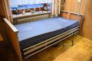 Wertiges Pflegebett Krankenbett Seniorenbett Bett
