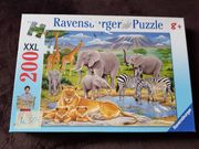 Puzzle Ravensburger Wilde Tiere