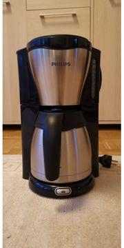 Phillips Kaffemaschine mit Thermoskanne