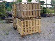 Holzbox Palettenbox