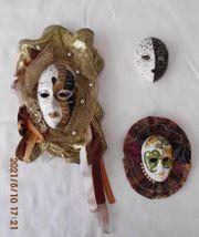 Venezianische masken Konvolut 2