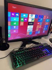 PC Monitor Rechner