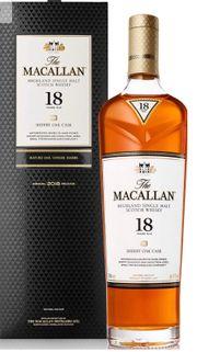 Macallan 18 Sherry oak 2018