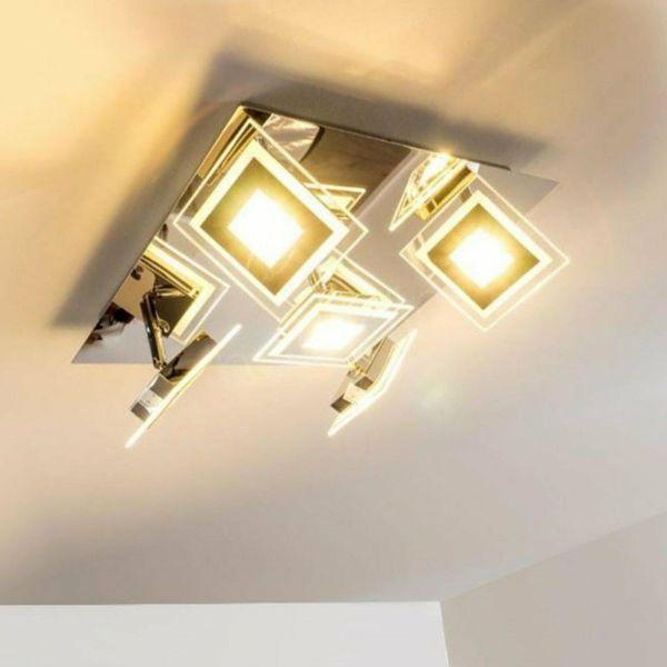 40x40 LED deckenleuchte deckenlampe Metall