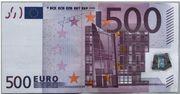 500 Euro zum 18ten
