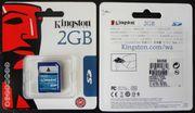 5er Pack Kingston SD Card