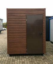 WC Container mit Dusche Campingplatz-Toilette