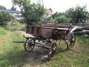 Kutsche Zweispänner Jagdwagen