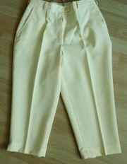 3 4 Hose Sommerhose gelb