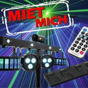 Lichtanlage mieten leihen Lichteffekte Party
